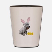 Funny Easter bunny Shot Glass