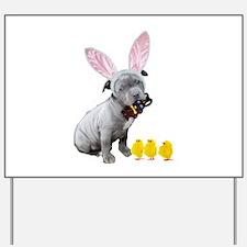 Cute Easter bunny Yard Sign
