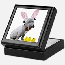 Cute Easter pets Keepsake Box