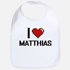 I Love Matthias Bib