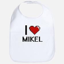 I Love Mikel Bib