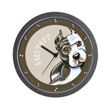Amstaff Lean Type Wall Clock