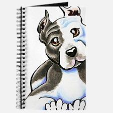 Amstaff Lean White Journal