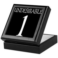 Undesirable No. 1 Keepsake Box