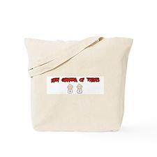 Funny Twins Tote Bag