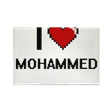 I Love Mohammed Magnets