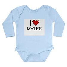 I Love Myles Body Suit