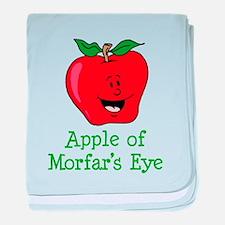 Apple of Morfar's Eye baby blanket