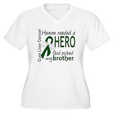 Liver Cancer Heav T-Shirt