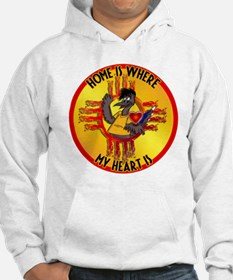 HOME IS WHERE MY HEART IS Hoodie