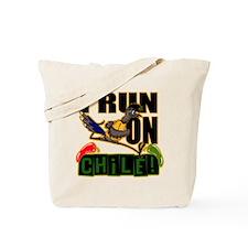 I Run On Chile Tote Bag