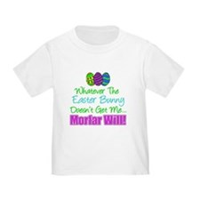Easter Bunny Doesn't Morfar Will T-Shirt