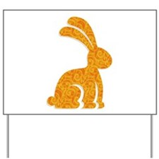 Easter Bunny Yard Sign