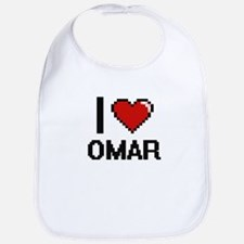 I Love Omar Bib
