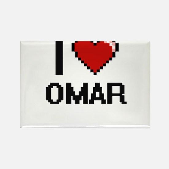 I Love Omar Magnets
