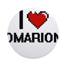 I Love Omarion Ornament (Round)