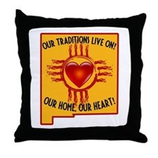 OUR HOME OUR HEART Throw Pillow