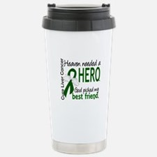Liver Cancer HeavenNeed Travel Mug