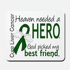 Liver Cancer HeavenNeededHero1 Mousepad