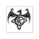 Celtic dragon Bumper Stickers