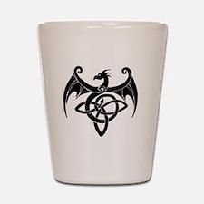 Celtic Dragon Shot Glass