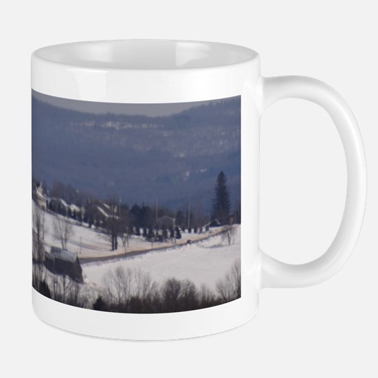 Small Town Back Country Roads Mug