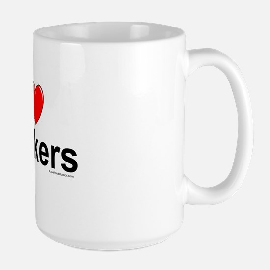 Peckers Large Mug