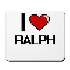 I Love Ralph Mousepad