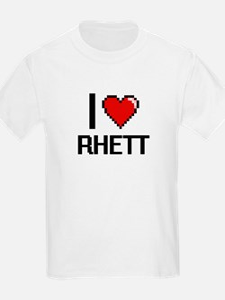 I Love Rhett T-Shirt