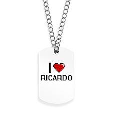 I Love Ricardo Dog Tags