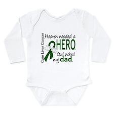 Liver Cancer HeavenNee Long Sleeve Infant Bodysuit