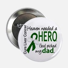 "Liver Cancer HeavenNeededHero1 2.25"" Button"