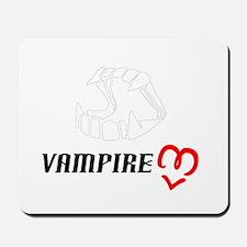 Vampire Love Mousepad