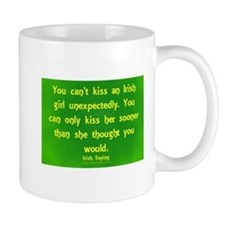 Kissing An Irish girl Mugs