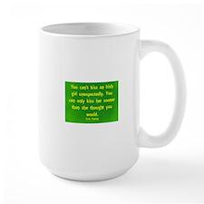 Kissing An Irish girl Mugs