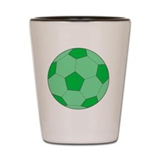 Irish Soccer Ball Shot Glass