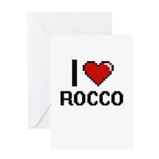 I Love Rocco Greeting Cards
