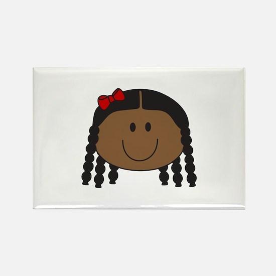 LITTLE GIRL FACE Magnets