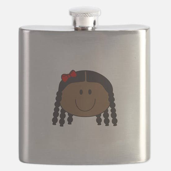 LITTLE GIRL FACE Flask