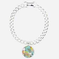Mid-Century Modern Abstract Bracelet