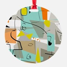 Mid-Century Modern Abstract Ornament