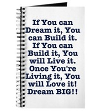 Dream, Build, Live, Love Journal
