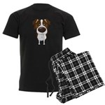 Big Nose Aussie Men's Dark Pajamas