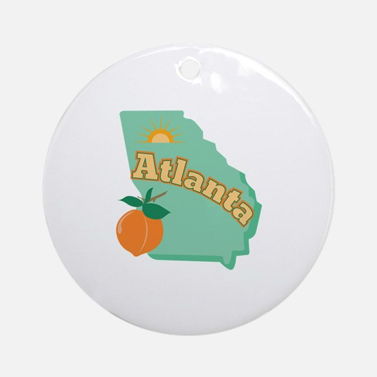 Atlanta Ornament (Round)