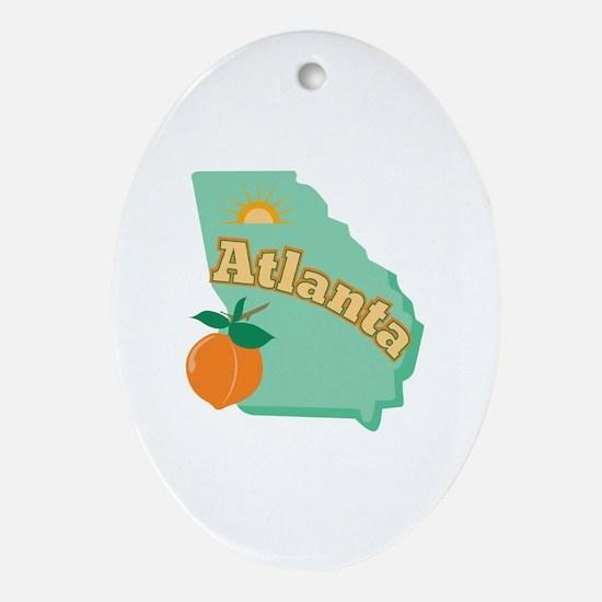 Atlanta Ornament (Oval)