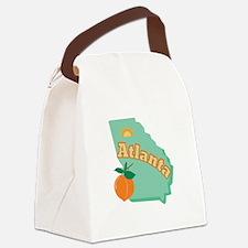 Atlanta Canvas Lunch Bag