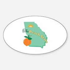Peach State Decal