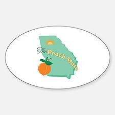 Peach State Decal