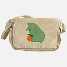 Peach State Messenger Bag