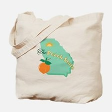 Peach State Tote Bag
